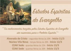 Acontece - Estudos Espíritas do Evangelho 2019