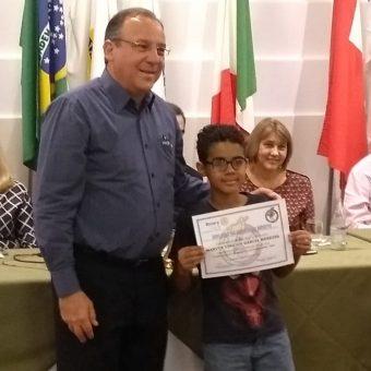 Parabéns Marco Vinícius!